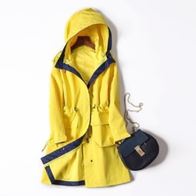 High quality Waterproof Softshell Jacket Women long Windbreaker Camping Hiking Fishing Outdoor Rain Coat Female