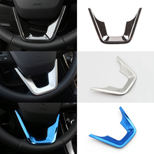 For Hyundai Creta IX25 2015 2016 2017 2018 Stianless Steel Car Accessories Steering Wheel Decoration Buttons Cover Trim for hyundai ix25 creta 1 6l steering wheel cruise control buttons remote control volume channel bluetooth phone button