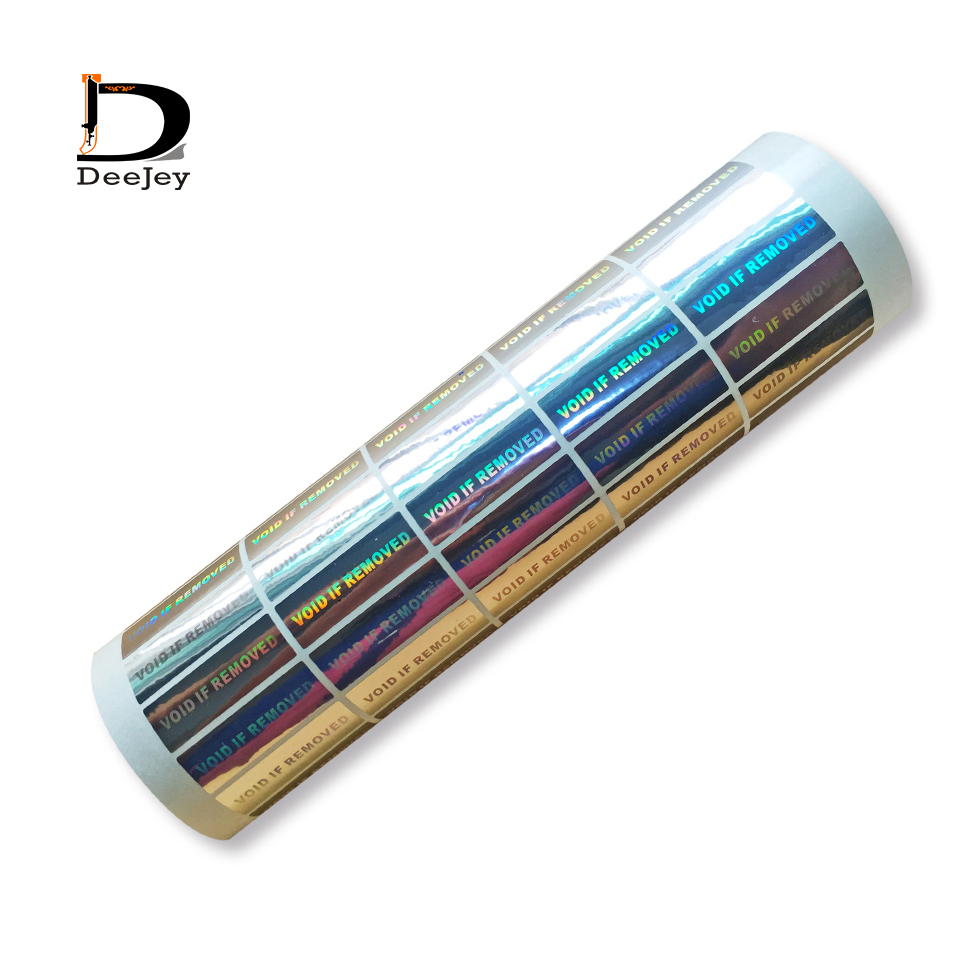 фондовый лазерной голографической наклейки void if removed 10x30 мм гарантия наклейки 2000 шт. лот