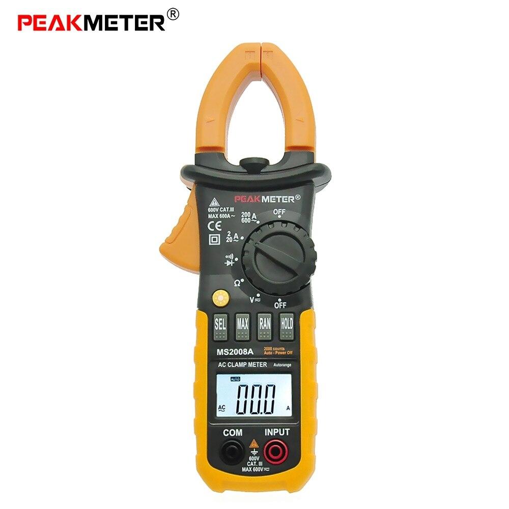 Fie Digital Clamp Meter : Peakmeter ms a clamp meter digital meters auto