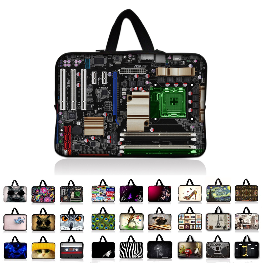 Multiple design notebook laptop bag for 9.7 inch 10 11.6 13 13.3 14.4 15 15.6 17 17.3 laptop sleeve tablet case #K
