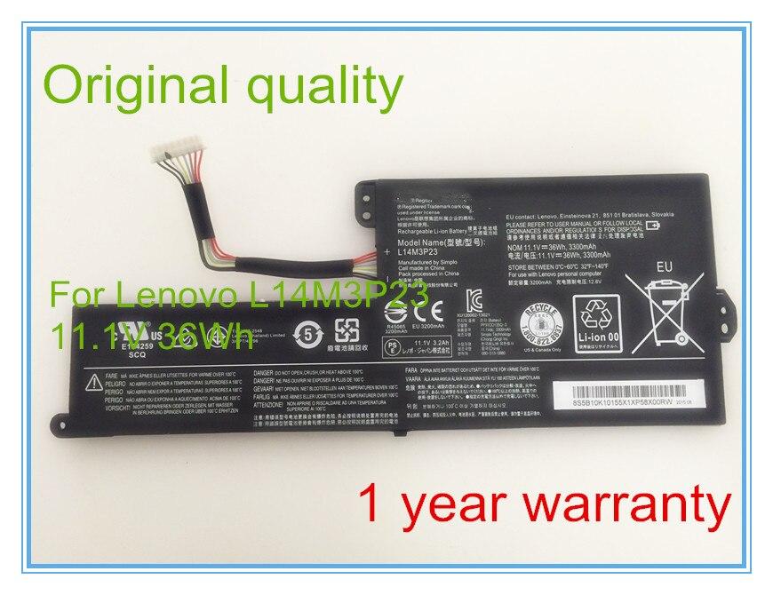 Nouveau Original Chromebook N21 batterie d'ordinateur portable pour L14M3P23 5B10H33230 36Wh 3300 mAh