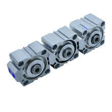 Aluminum Alloy 80mm Bore 5/10/15/20/25/30/35/40/45/50/60/70/75/80/90/100/150mm Stroke Double Action SDA Pneumatic Air Cylinder