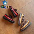 TUTUYU 2017 Spring Yeezy Shoes Kids Shoes Boys Girls Fashion Sneakers Summer Children Breathable Canvas Causal Shoes SPLY 350