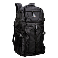 Fashion leisure 60 L large capacity Mountaineering bag Travel bag nylon men's backpack