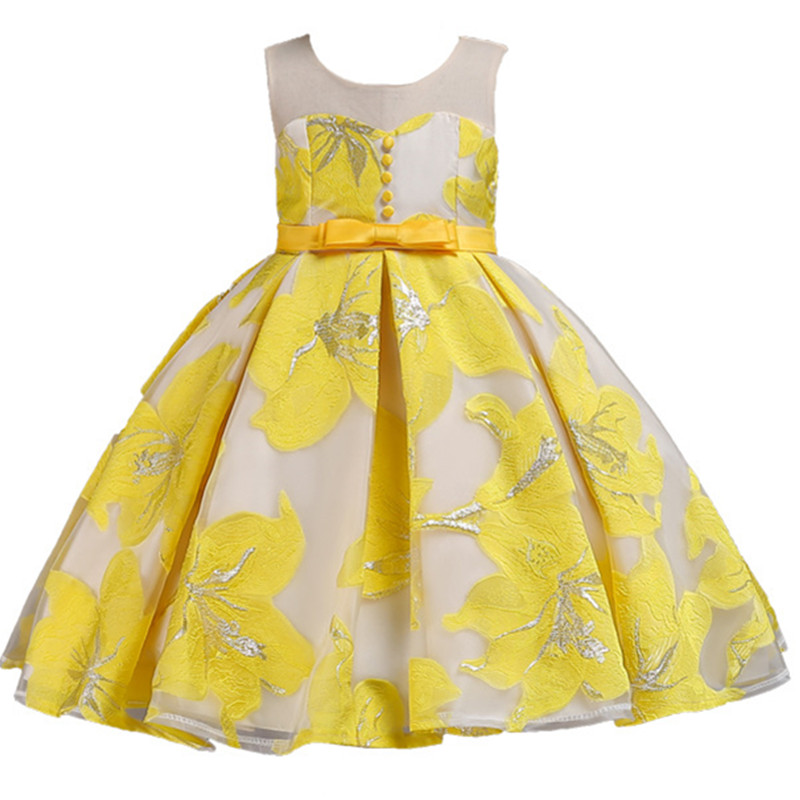 Teenager Party Dress Children Clothing Girl Dress Kids Clothes Flower Girls Dress For Wedding Birthday Party Baby Girl Dress girl teenager party dress flower princess dress girl clothing for girls clothes dresses spring summer custumes