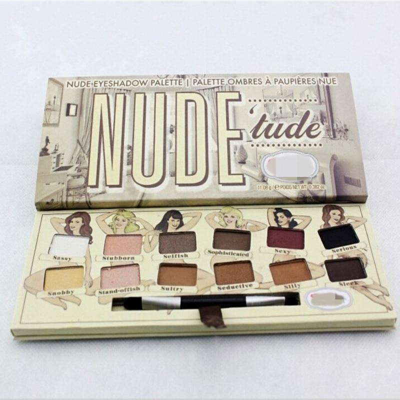 NYX nu sur Palette Nude, 20 ombres paupires, 10 Lip