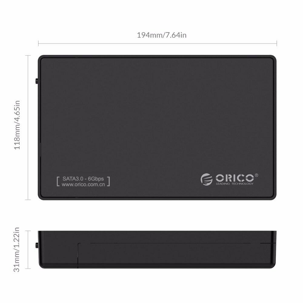 ORICO 3588US3-V1 3.5 դյույմ SATA արտաքին կոշտ - Արտաքին պահեստավորման սարքեր - Լուսանկար 6
