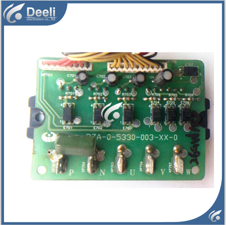 90% new good working for Hisense air conditioning Computer board RZA-0-5330-003-XX-0 power module good working air conditioning board kfr 26w 11bp rza 4 5174 181 xx 0 used disassemble