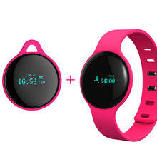 New Fashion Smart H8 Band Wearable Bluetooth Sport Health Monitoring Bracelet Anti-Lost Heart Rate Tracker Wristband IOS Android