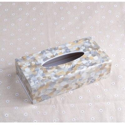 Креативная акриловая коробка для салфеток, держатель для салфеток, диспенсер для салфеток для украшения дома TB018 - Цвет: Rectangle Design 1