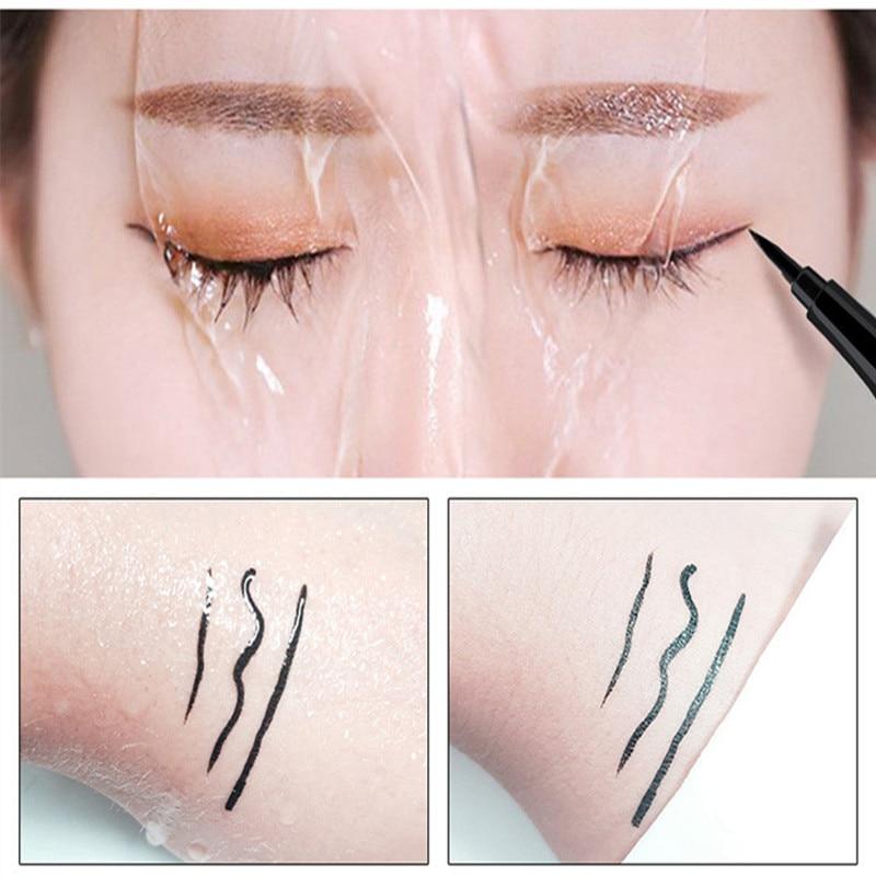 5 style of black liquid eyeliner shade brown make up eye liner color eyeliner waterproof eyeliner eyes makeup stencil for arrows 5