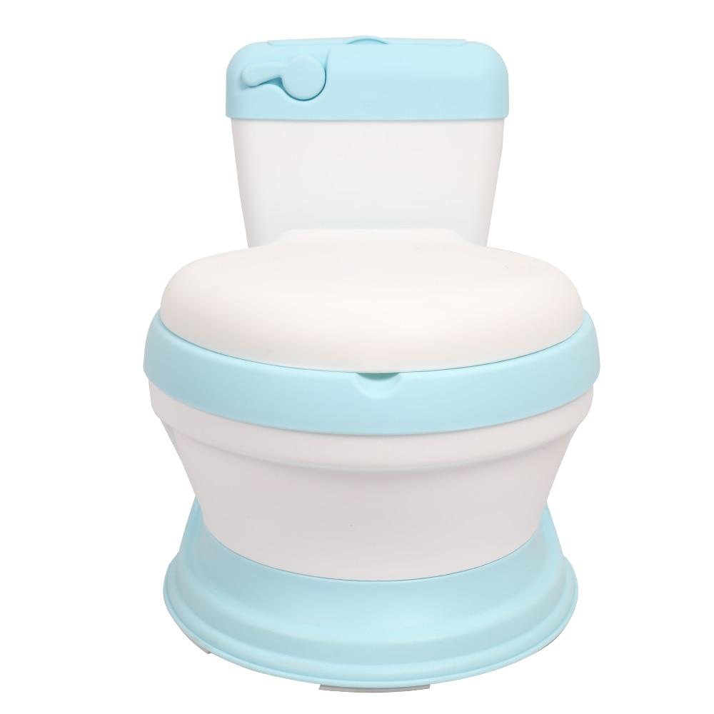 Enfants Simulation toilette infantile poney seau pot siège bambin Portable toilette formation urinoir enfants Potties