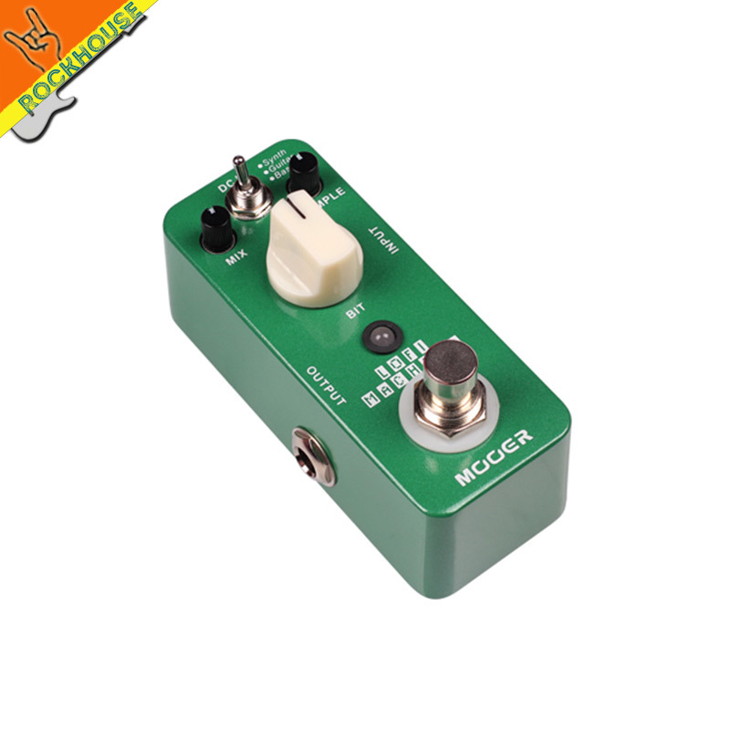 MOOER Lofi Machine Guitar Effects Pedal Wide Range Sampling rate/depth Bass Guitar Synth True Bypass Free Shipping mooer ensemble queen bass chorus effects effect pedal true bypass rate knob high quality components depth knob rich sound