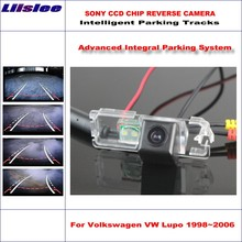 Liislee Backup Rear Reverse Camera For Volkswagen VW Lupo 1998~2006 / HD 860 * 576 580 TV Lines Intelligent Parking Tracks