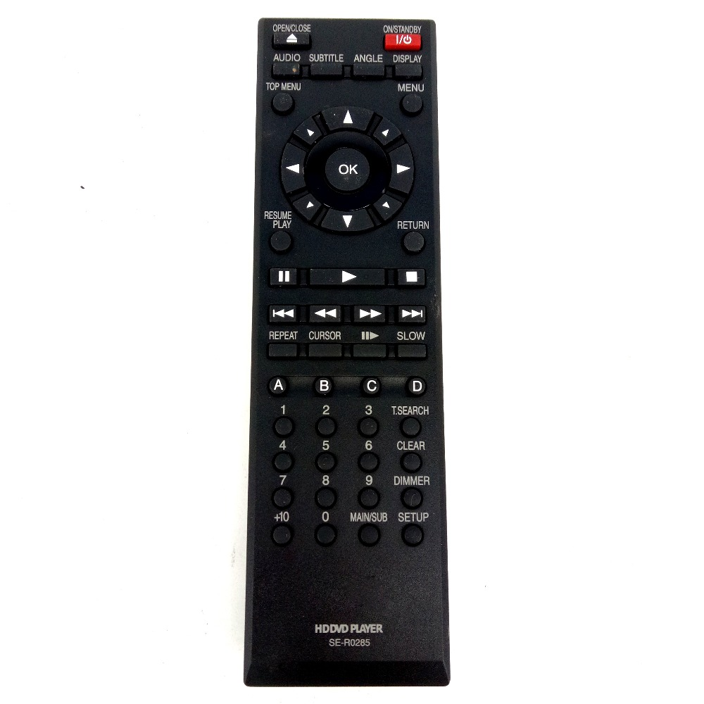 remote control for toshiba se r0285 hd a30ku hd a30kc. Black Bedroom Furniture Sets. Home Design Ideas