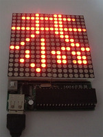 16 16 Dot Matrix Screen LED Dot Matrix Screen Electronics Production Kit DIY