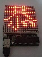 16 16 Dot Matrix Screen LED Dot Matrix Screen Electronics Production Kit DIY