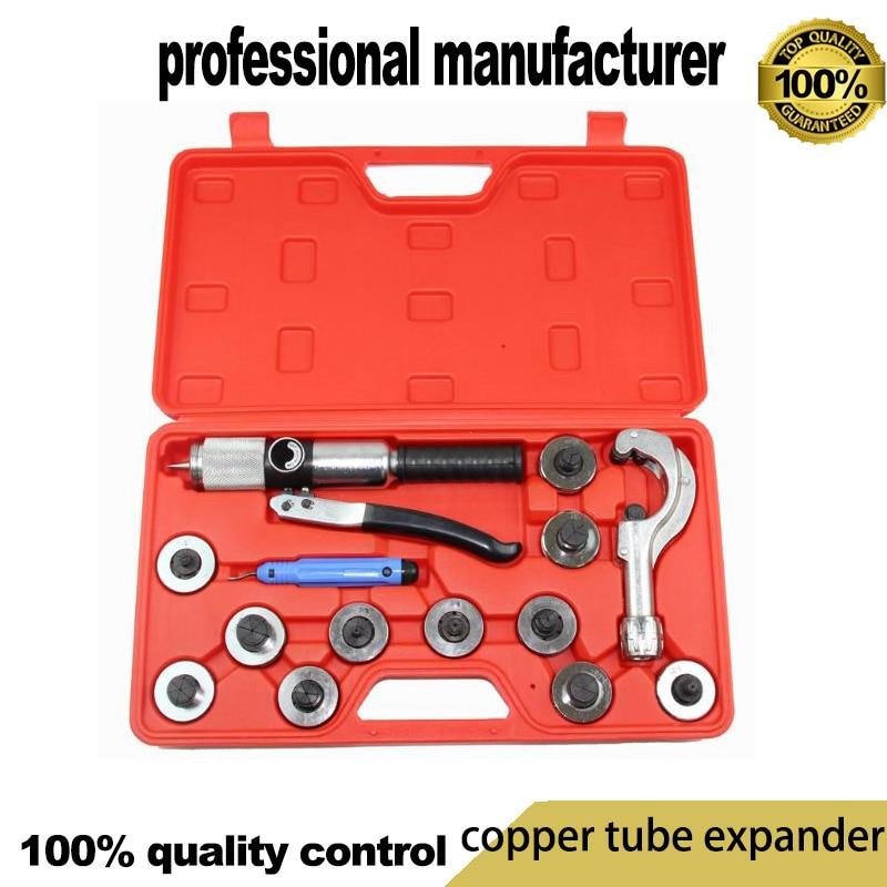 Expander Air Conditioning Copper Tube Expansion Brass Hydraulic Expander kitCT-1226 pupa лак для ногтей lasting color gel 105 яркая орхидея