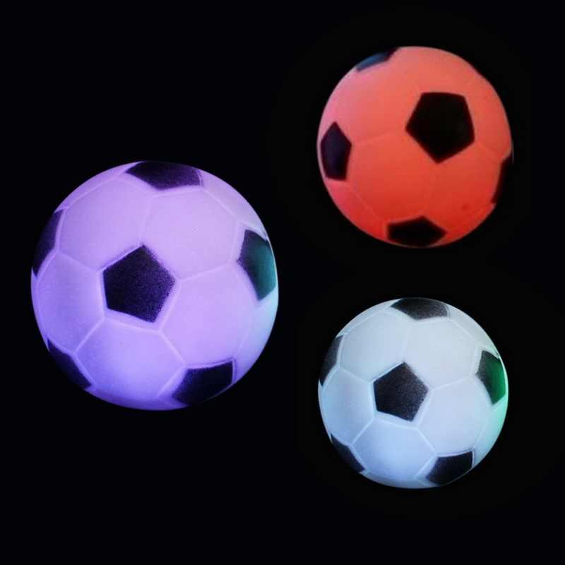 1 PC サッカー形状の Led カラフルな夜の光サッカーライトランプ子供のギフトのための夜のパーティーの装飾のギフト子供家の装飾