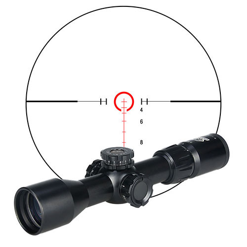 цена на Promiton New Arrival Tactical 3-9x40FIRF Rifle Scope For Hunting Shooting HS1-0285