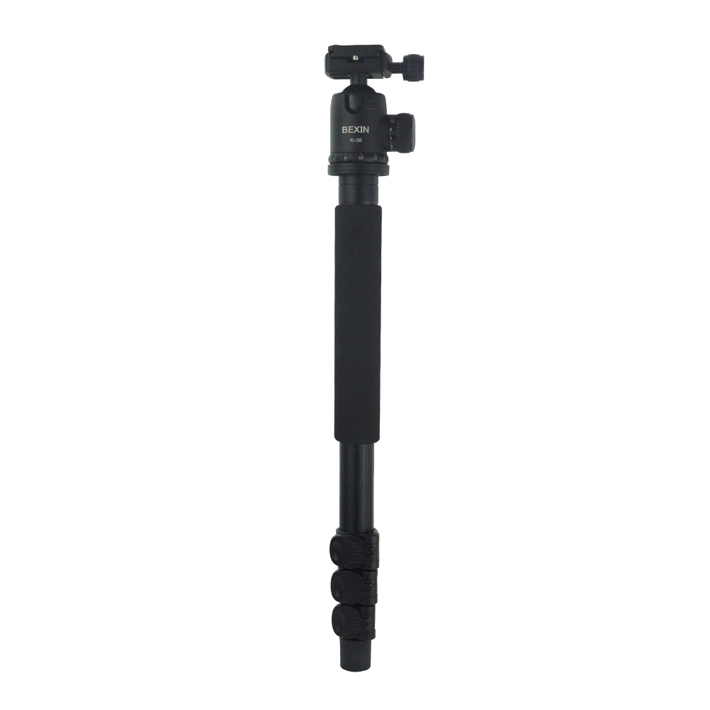 Factory Supply Quality Aluminum Camera Tripod With Adjustable Legs Professional Tripod 4 Section 170CM 2016 new professional aluminum tripod camera tripod high quality aluminum tripod