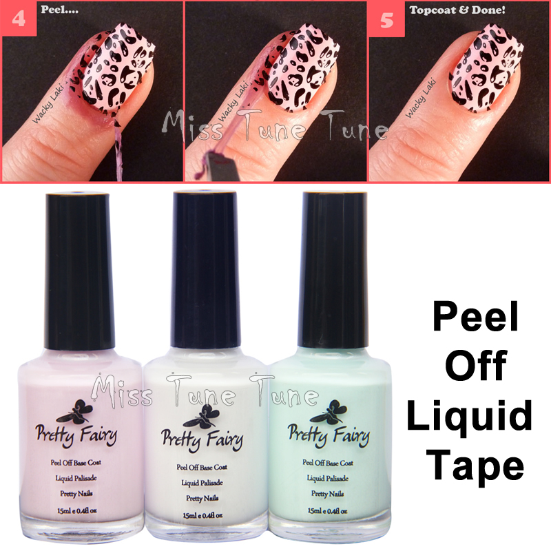 New Upgrade Ingrents 15ml Nail Art L Off Palisade Base Coat Liquid Tape Manicure Skin Protect