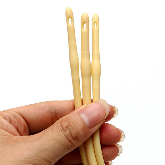 IKOKY Urethral Dilators Male Masturbator Sex Toys for Men Disposable Penis Plug Double Hole Catheters Sounds Urethral Stretching