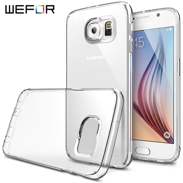 the best attitude 21433 0a43e US $9.99 |For Samsung Galaxy S7 Edge Case Clear Rubber Shockproof  Protective Case Anti Scratch Cover For Samsung Galaxy S7 Edge-in Fitted  Cases from ...