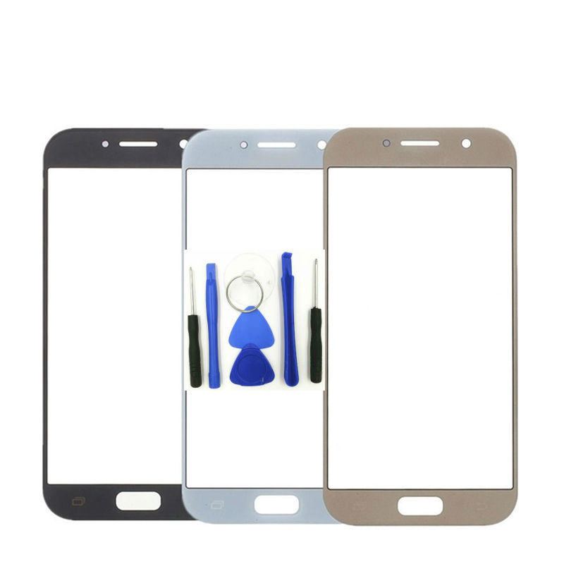 1pcs For Samsung Galaxy A5 2017 A520 A520F Touch Screen Panel Replacement LCD Front Outer Glass Cover Lens  + Tools