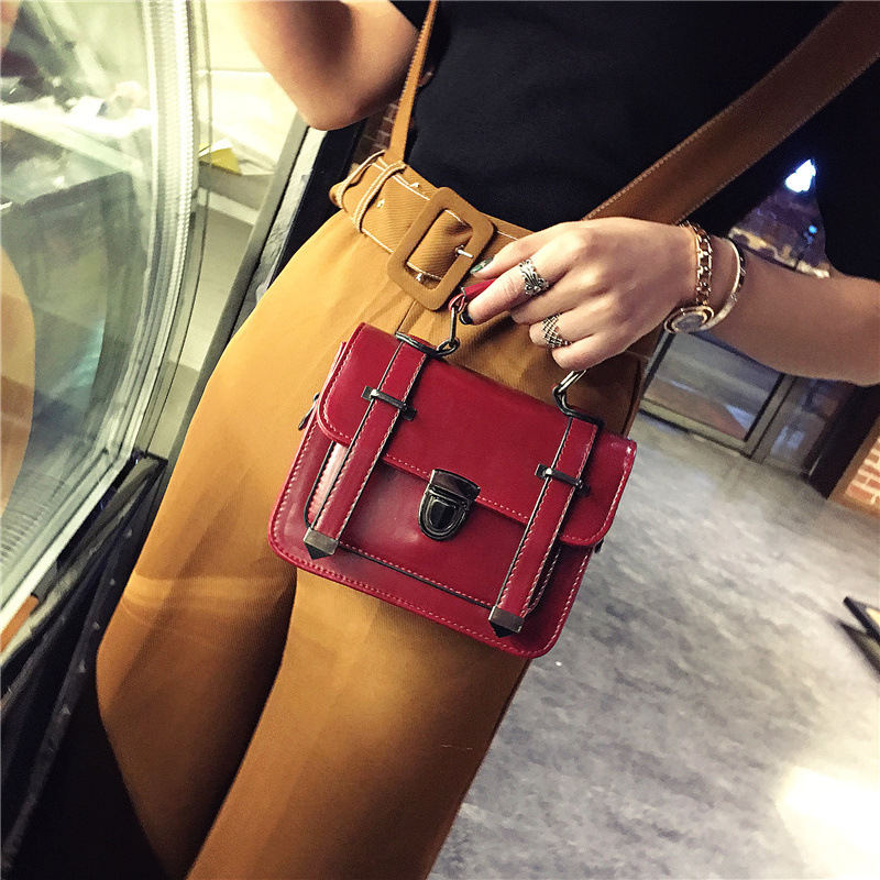 DALFR Pu Leather Women Shoulder Bags Small Messenger Bag Ladies Flap Bags Casual Crossbody Bags Mini Satchel Purses miyahouse summer women messenger bags canvas leather cartoon owl printed crossbody shoulder bags small ladies flap bag casual