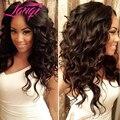 Unprocessed Peruvian Loose Wave Virgin Human Hair 1 Bundle Lot Pervian Virgin Hair Loose Curly Virgin Hair Puruvian Hair Bundles