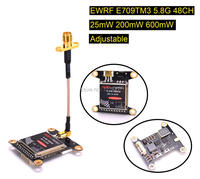 New E709TM3 5 8G 40CH 25mW 200mW 600mW Adjustable AV Transmitter W Mounting Hole For Flight