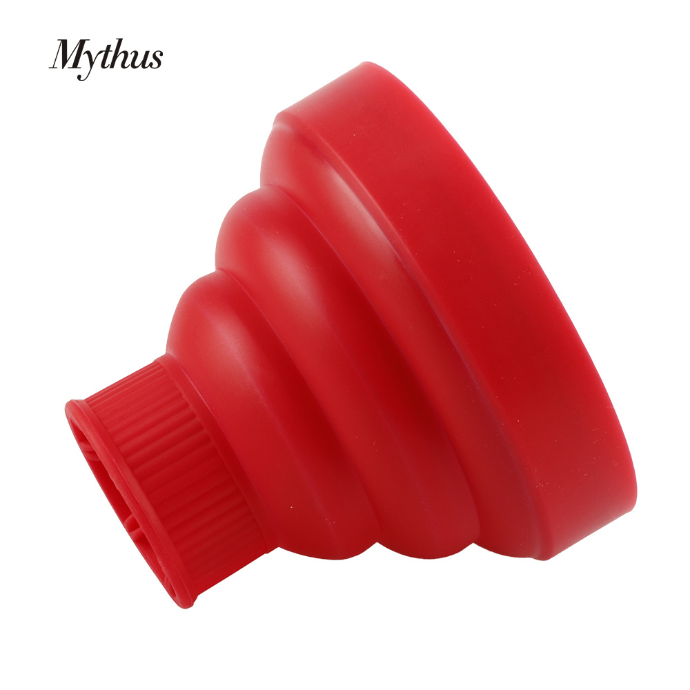 Professional Silicone Falling Hair Dryer Diffuser Hair Salon For Heat - Шаш күтімі және сәндеу - фото 3