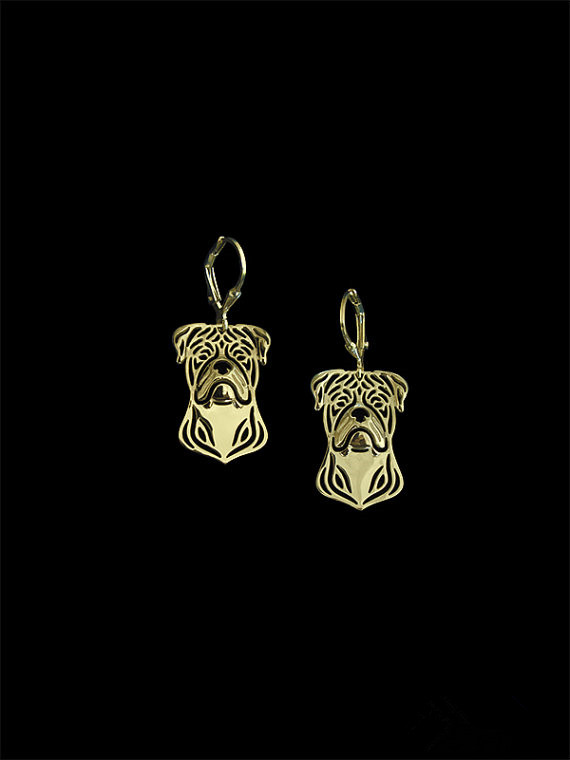 2016 Trendy American Bulldog Drop Earrings Gold Silver Plated Wholesale Earrings Women Fashion Jewelry From India Bridal Earing Cheap Sales 50%