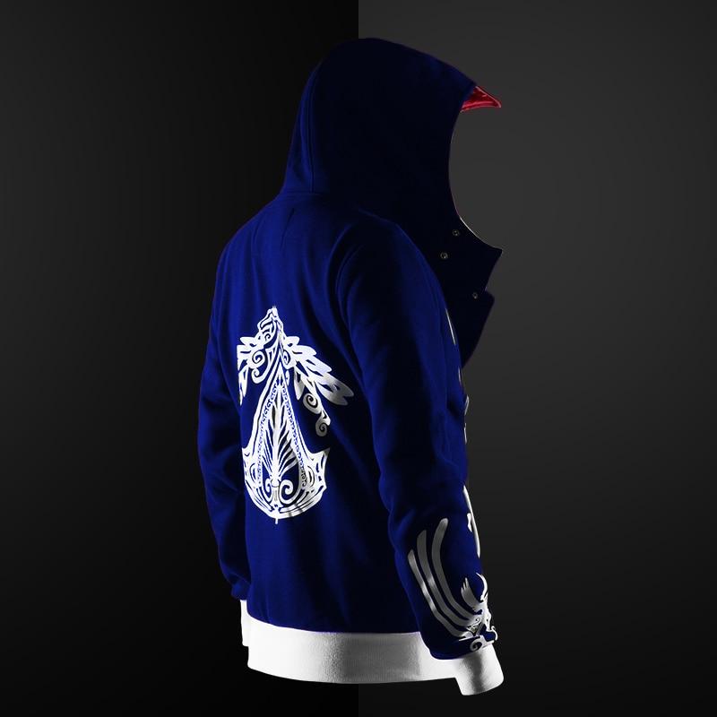 HTB1BJgNbcfrK1Rjy1Xdq6yemFXa3 Jaqueta Assassin's Creed game hoodie unisex zíper jaqueta rua moda impressão hoodie com capuz assassino para meninos mais tamanho s-