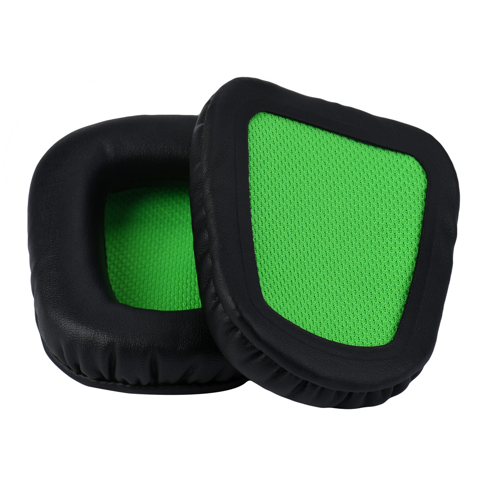 1 Pair Replacement Cushion Ear Pads For Razer Electra Gaming Pc Music Headphones High el ...