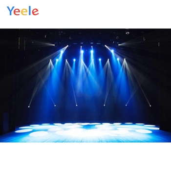 Yeele Stage Spot Light Wooden Floor Scene Baby Photography Backgrounds Customized Photographic Backdrops For Photo Studio