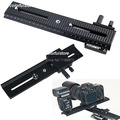 2-way LP02 200mm Macro Trimming Metal Focusing Rail Slide Tripod Long Ball Head Rack Frame for Nikon Canon Pentax Digital Camera
