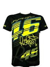 Valentino Rossi VR46 46 Camisetas de Motocross bike Cycling Racing Motocicleta Motor de La Bicicleta de SECADO RÁPIDO de Manga Corta T-shirt