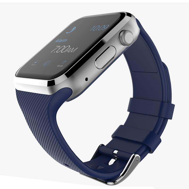 imágenes para 2017 Nuevos Dispositivos Portátiles GD19 Wach Reloj Inteligente Conectado Androide Reloj Inteligente Tarjeta de la Ayuda SIM Teléfono Smartwatch.