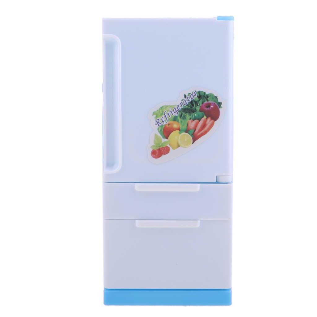DollHouse Kunststoff Kühlschrank Kühlschrank Möbel Zubehör