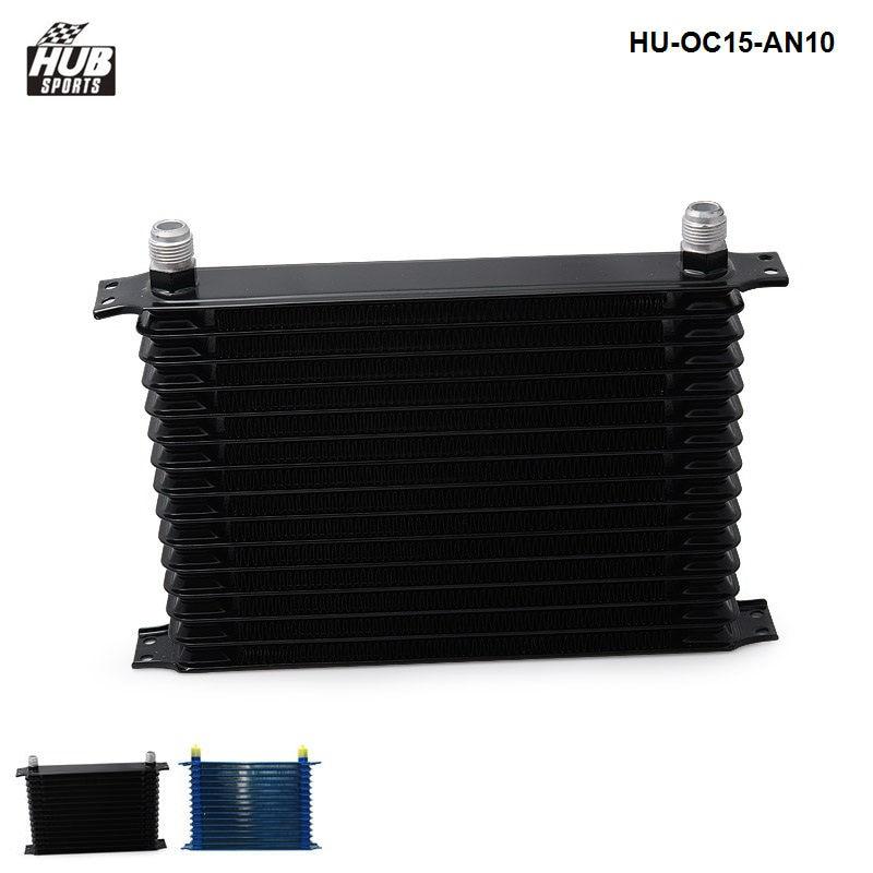 15 ROW ENGINE TRANSMISSION OIL COOLER AN10 HU OC15 AN10