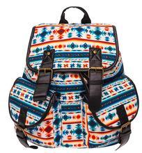 Kvky холст рюкзак женщины печати школьная сумка студентов Обувь для девочек Bookbags Для женщин туристические рюкзаки Mochila Бесплатная доставка