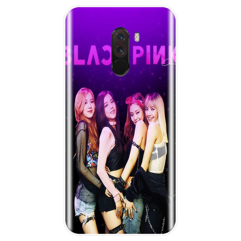 Черный Розовый k-pop черный розовый kpop коллаж чехол для телефона случай для redmi Примечание 4 5 6 7 NOTE 4X 5A 6 для redmi 4 4A 4X 5A 5 PLUS 6 pro 7