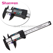Sale 100mm 4 inch LCD Electronic Digital Vernier Caliper Gauge Measure Micrometer New #G205M# Best Quality
