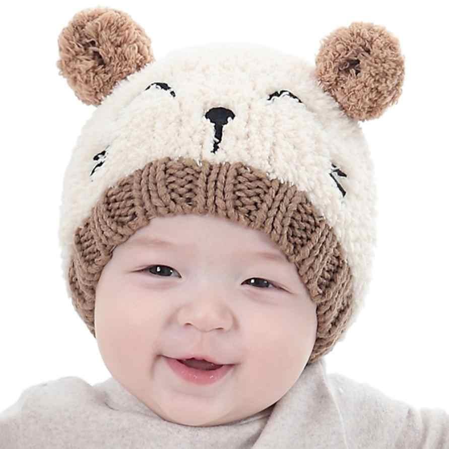 4 colores 2018 nuevo bebé infantes niños niño niña niños encantador aguja suave sombrero atrezos para fotografía de bebés buen 13 de agosto
