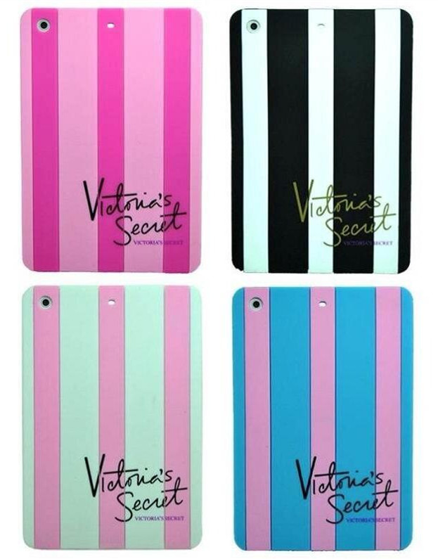 106b64fc503cb US $9.99 |Brand Luxury Victoria/'s Secret PINK Stripes Soft Silicone Case  Cover For iPad 2/3/4 Rubber Tablet Shell For iPad Mini 1/2-in Tablets & ...