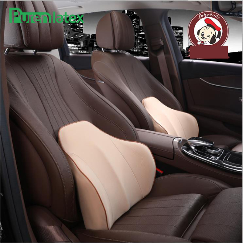 Car Driving Seat Memory Foam Orthopaedic Cushion 3D Surrounded Back Rest Waist Lumbar Support Car Back Pillow Driver Backrest