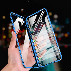 Image 5 - Manderm جراب هاتف ل OnePlus 7 برو OnePlus7 360 درجة كامل الجسم حماية المغناطيسي عودة الجبهة الزجاج المقسى حالة